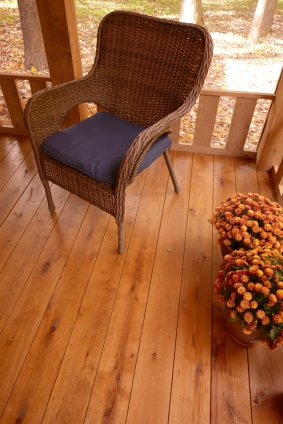 White Oak Decking